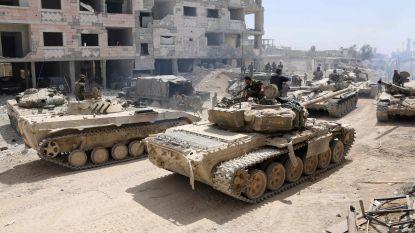 """""""Rebellen gestart met terugtrekking uit Douma"""""""
