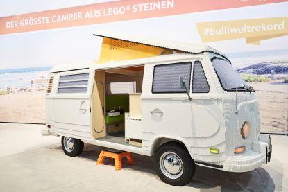 Er waren 400.000 Lego-steentjes nodig om deze kampeerauto op ware grootte te bouwen