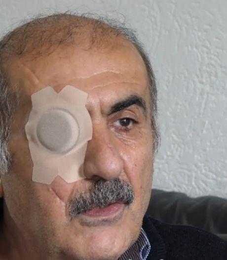 Neergestoken activist Zarza: 'Ik ga door, al is het met één oog'