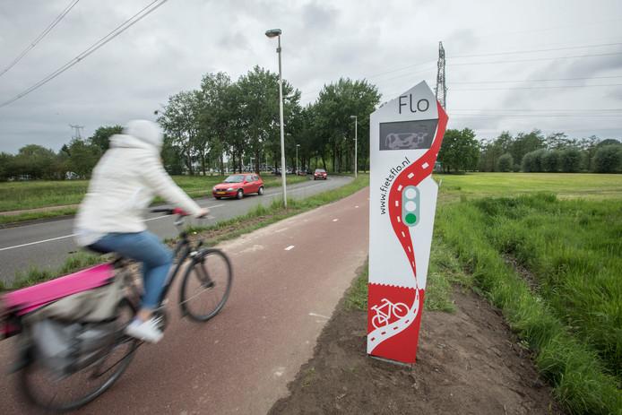 De Flo langs de Wolvendijk op de grens van Eindhoven en Nuenen.