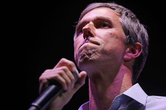 Beto O'Rourke moest het uiteindelijk nipt afleggen tegen Ted Cruz.