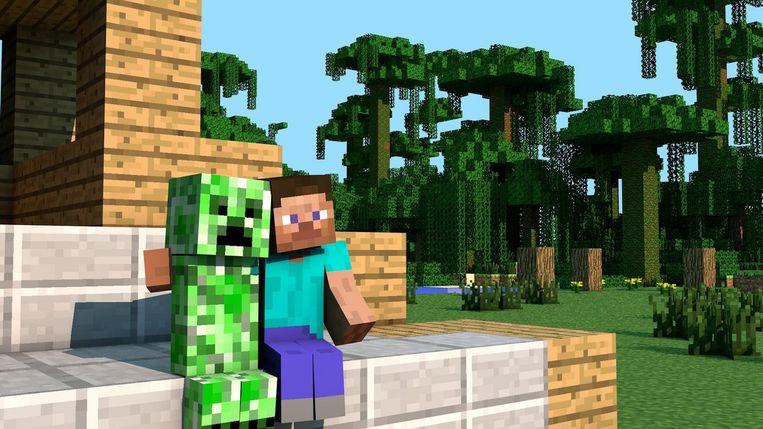 Fans zijn hun avonturen in Minecraft gaan opschrijven. Beeld