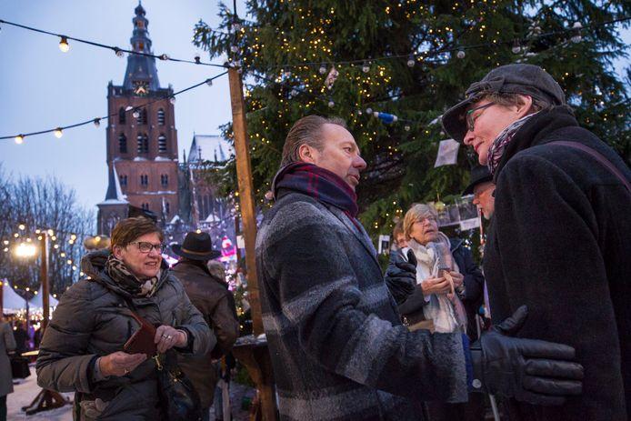 Opnamen van Joris  Kerstboom tijdens een eerdere versie in Den Bosch.