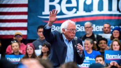 Met kop en schouders boven Biden en Bloomberg uit: Bernie Sanders behaalt grote voorsprong in nieuwe peiling
