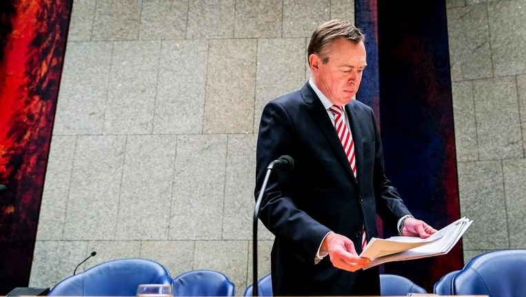 Minister Bruno Bruins Beeld ANP