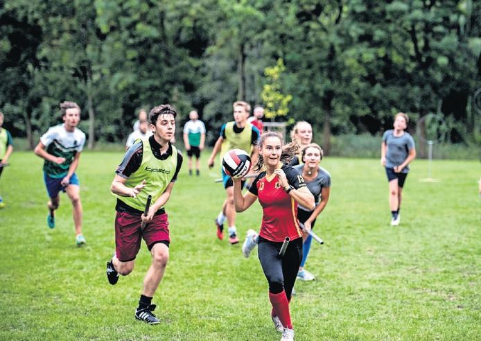 Antwerp Quidditch doet over twee maanden mee aan het Europees kampioenschap zwerkbal