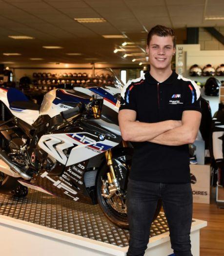 Motorcoureur Ricardo Brink mag zich in Duitsland weer met de snelste mannen meten