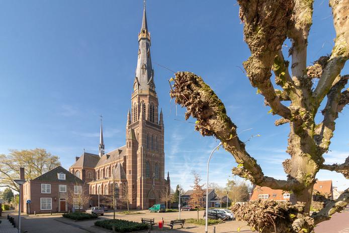 De Sint-Clemenskerk in Waalwijk