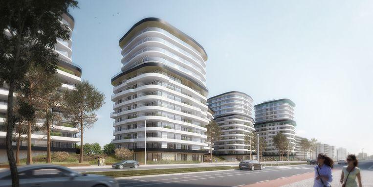 Oostende is in trek door de faciliteiten die de stad biedt en de verschillende nieuwbouwprojecten, zoals The Waves.