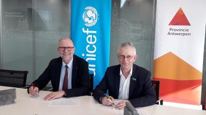 Provincie Antwerpen gaat in zee met Unicef om  in Ivoorkust scholen te bouwen met gerecycleerd plastic