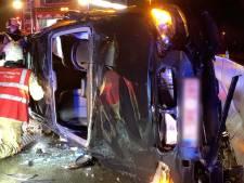 Brandweer moet bestuurder bevrijden na ongeval op E40