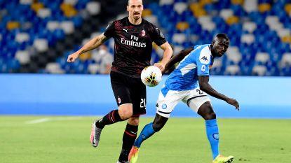 LIVE. Mertens dicht bij knappe opener tegen AC Milan, waarna Hernandez en Di Lorenzo wel scoren