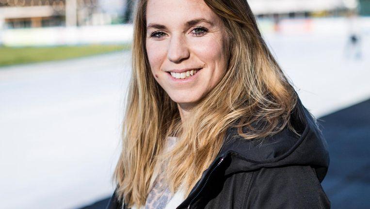 Annette Gerritsen: 'Ik stond als peuter op dubbele ijzertjes op de Jaap Edenbaan, daar is het begonnen.' Beeld Tammy van Nerum