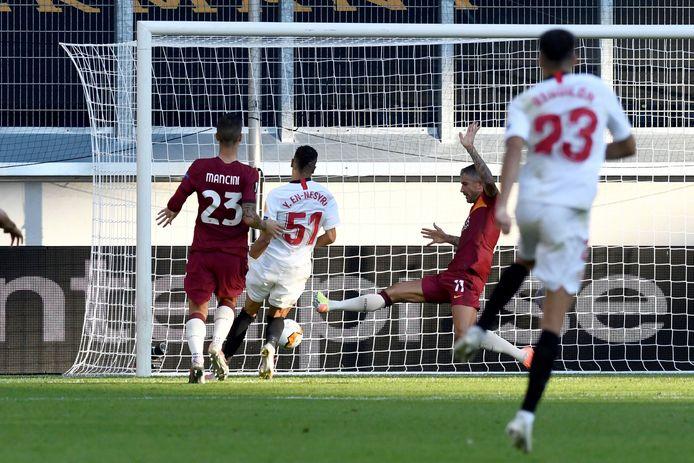 Youssef En-Nesyri maakt de 2-0.
