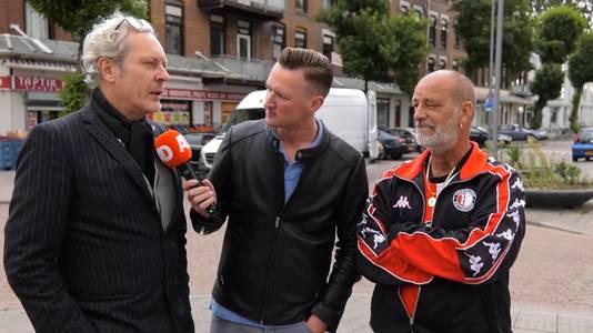 Bewoners uit de Tweebosbuurt in Rotterdam zijn strijdvaardig. Edwin Dobber is als geboren en getogen Rotterdammer niet van plan de stad te verlaten.