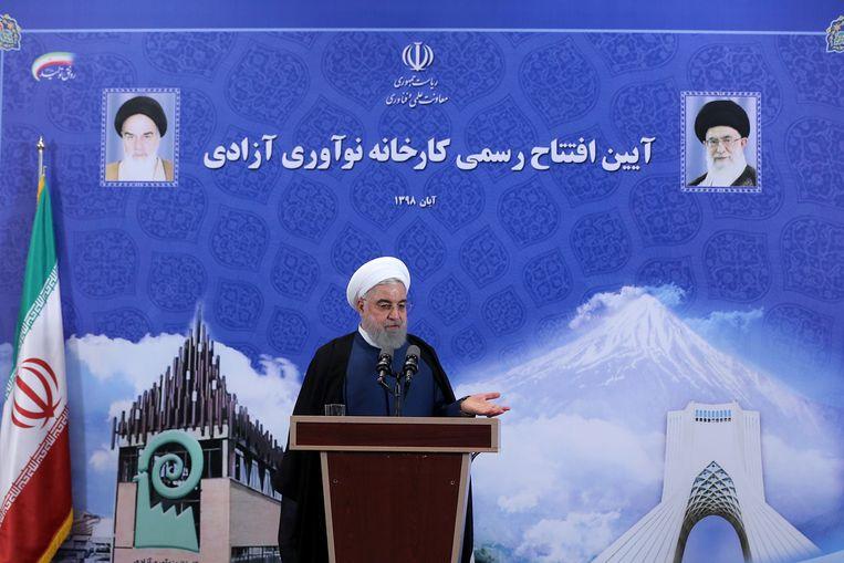 Iraans president Hassan Rouhani had de maatregelen gisteren al aangekondigd, wat leidde tot bezorgde reacties van de internationale gemeenschap.