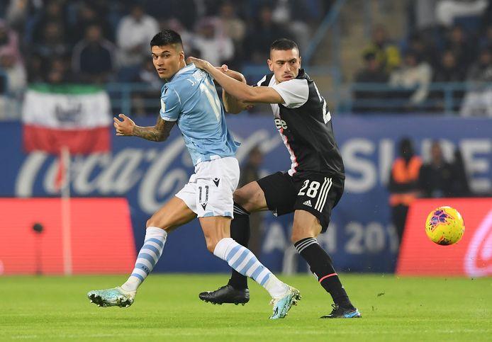La Lazio avait battu la Juventus 3-1 lors de la Supercoupe d'Italie organisée en Arabie saoudite le 22 décembre 2019