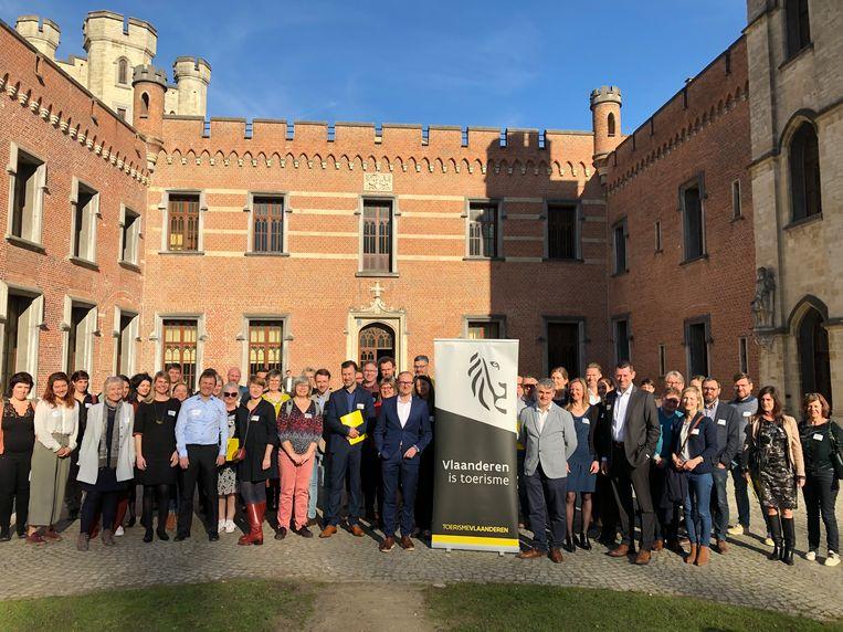 De lancering van het merk 'Flanders Heritage Venues' vond plaats in de Plantentuin van Meise.