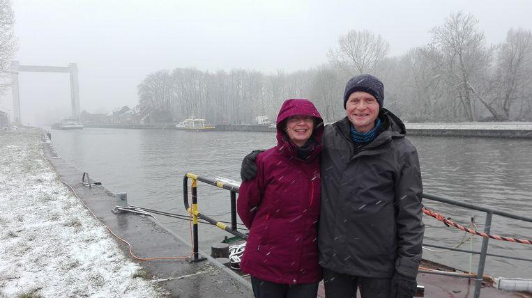 De trip met de overzetboot bezorgt Luk Henkens en Marleen Vos een beetje 'vakantiegevoel'.