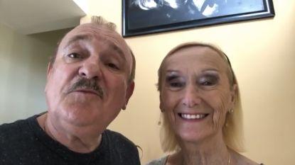 Goeiemorgen! Gouden koppel verrast met videoboodschap van Nicole en Hugo
