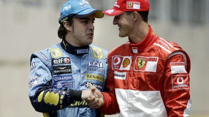 IN BEELD. De razend spannende ontknoping met Schumacher, maar ook de 'Crashgate': 10 momenten uit de carrière van Fernando Alonso
