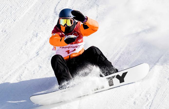 Cheryl Maas op de Spelen in Pyeongchang