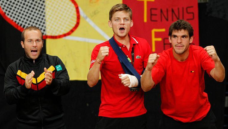 """André Stein: """"Eerste keer in dertig jaar dat een Davis Cup-wedstrijd met gesloten loketten wordt gespeeld."""""""