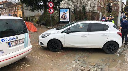 Bromfietser gewond na crash met personenwagen