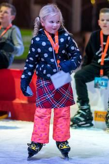 Winterfestijn was top, maar wel 13 paar schaatsjes ontvreemd