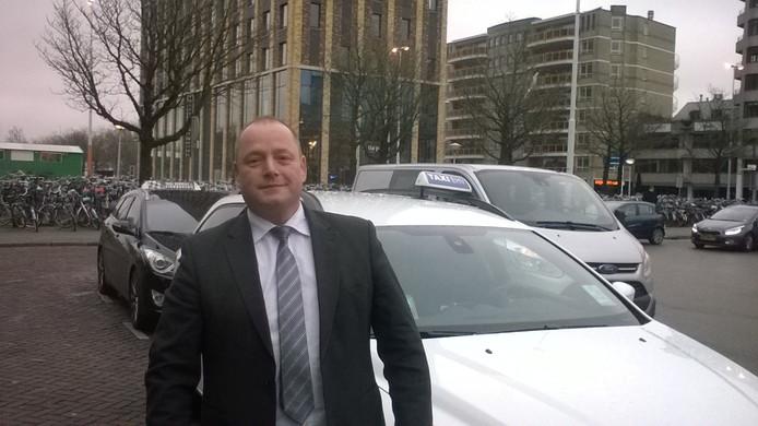 Taxichauffeur Marcel van der Heijden.