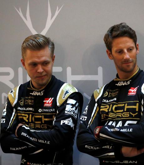 Haas houdt vast aan rijdersduo Magnussen en Grosjean