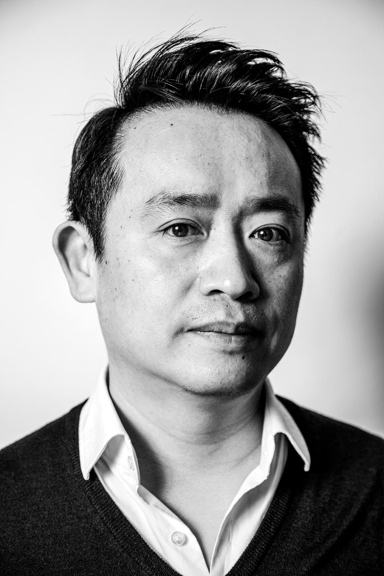 Han Ji: 'Ik wist: in een restaurant gaat het nu om de service, de muziek, de sfeer. Het concept. Ik moest focussen op het totale beeld.' Beeld Ernst Coppejans