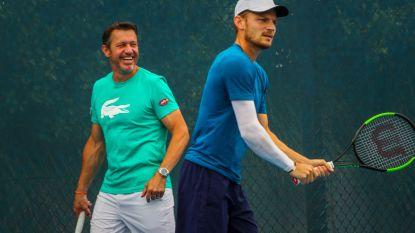 """Na vroege uitschakeling op Australian Open scheiden wegen van   Goffin en coach Van Cleemput: """"David had nood aan ander verhaal"""""""
