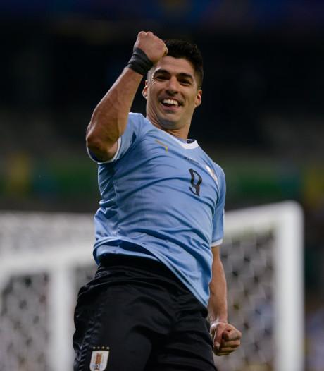Uruguay zet gehavend Ecuador met 4-0 eenvoudig opzij