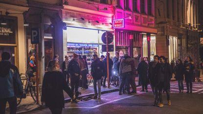 Gentse cafégangers zetten nacht verder aan nachtwinkels