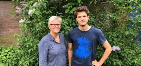 Wageningse moeder en zoon samen op lijst voor Volt