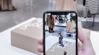 Zara introduceert augmented reality in 120 winkels en ook in België