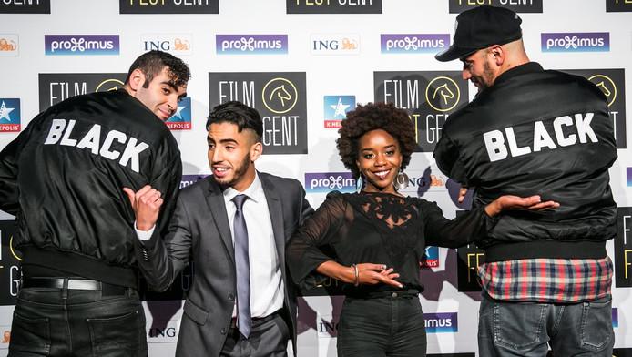 "Aboubakr Bensaihi l'acteur du film ""Black""."