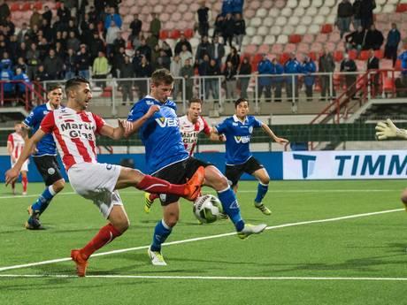 Derby tussen FC Oss en FC Den Bosch kent geen winnaar