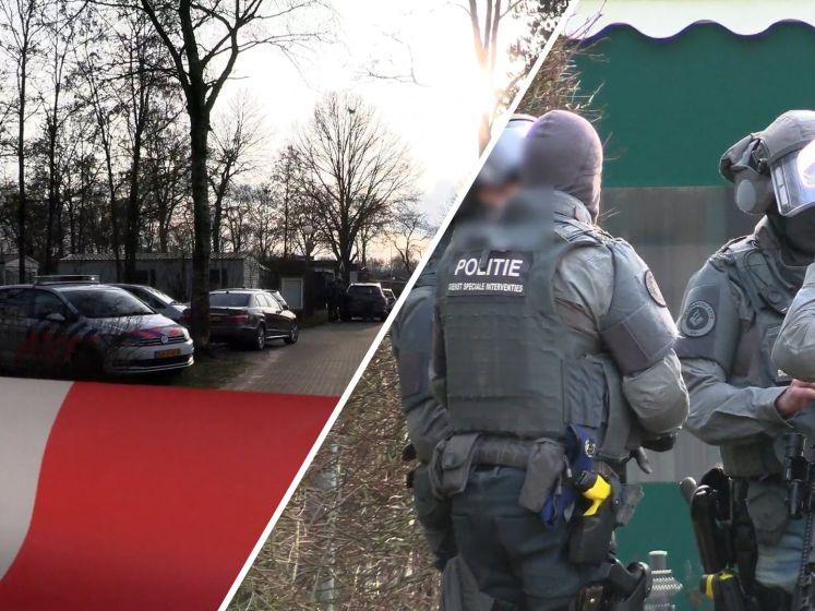 Politie op Enschedese camping wegens 'gevaarlijk persoon'