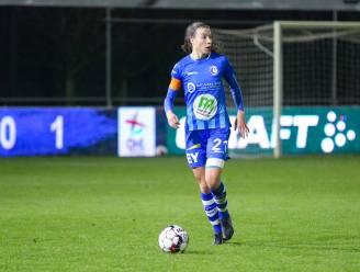 """Silke Vanwynsberghe en AA Gent Ladies ontvangen Genk: """"Ons richten op derde plaats, niet op de tweede"""""""