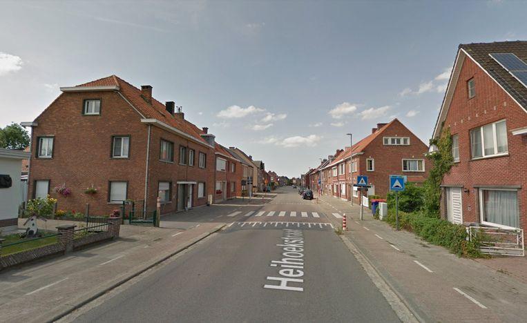 De Heihoekstraat in Nieuwkerken.
