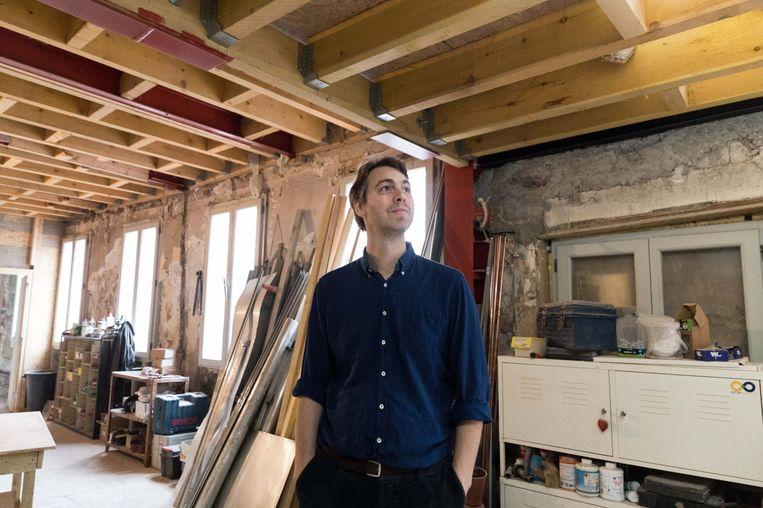 Julien Labrousse - ondernemer gespecialiseerd in het renoveren van cultureel vastgoed Beeld Triodos Bank