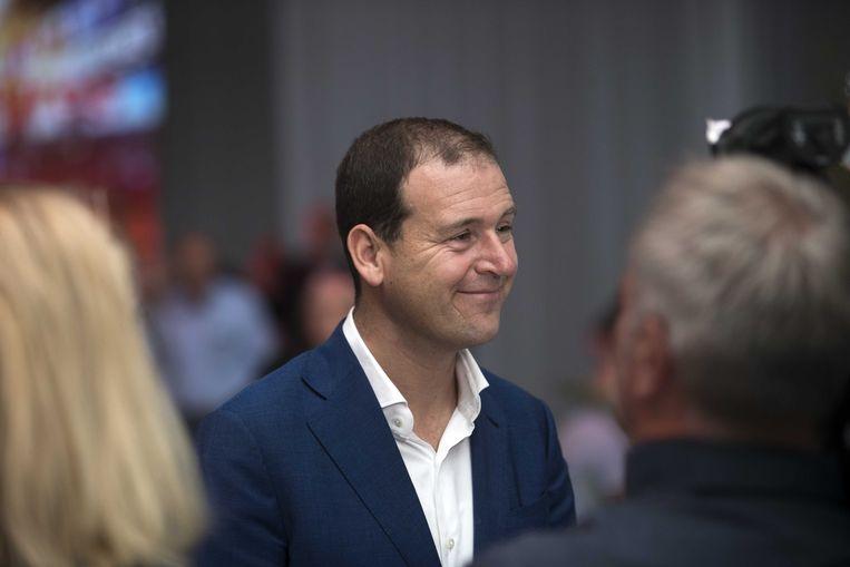 PvdA-partijleider Lodewijk Asscher op het partijcongres in Amsterdam Beeld ANP