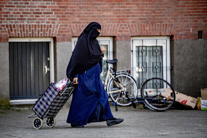 Een vrouw met nikab (foto ter illustratie).