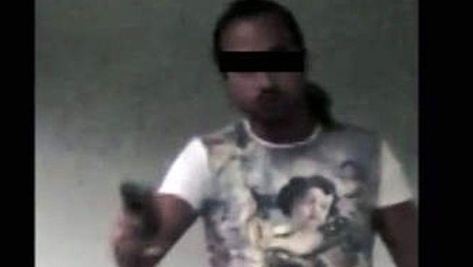 Screenshot uit het bewuste filmpje.