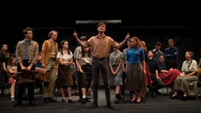 IN BEELD. BV's herbeleven val van Berlijnse Muur in pakkende musical