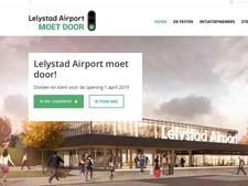 Voorstanders uitbreiding Lelystad Airport 'gaan er vol in'