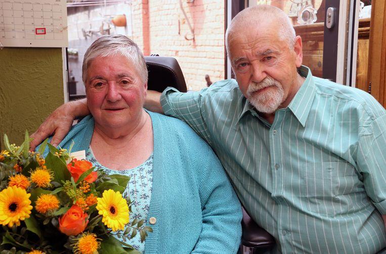 Jos en Micheline zijn vijftig jaar getrouwd.