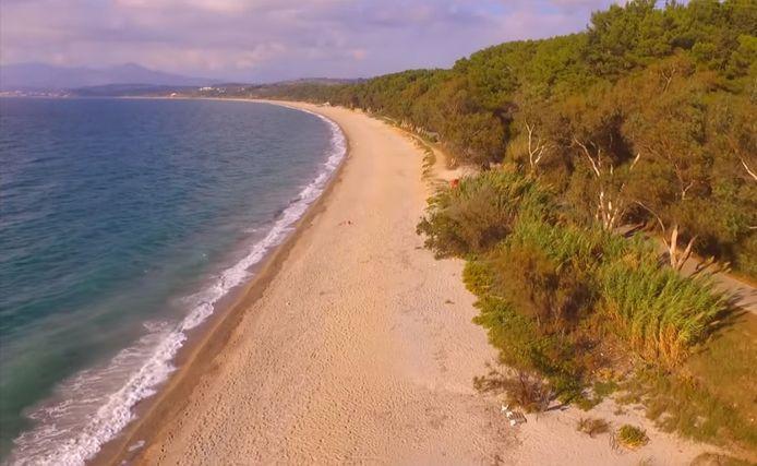 L'incroyable plage de Monolithi à Preveza en Grèce